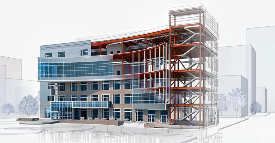 Modelo BIM edificio