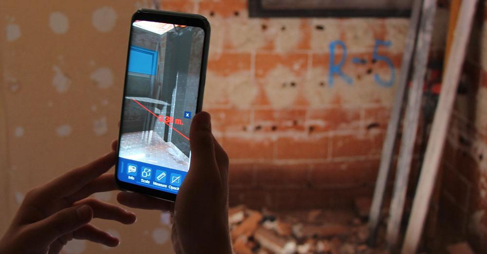 Realidad aumentada en móvil
