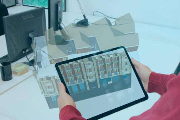 Realidad aumentada en tablet